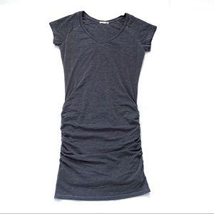 Sundry vneck t-shirt dress